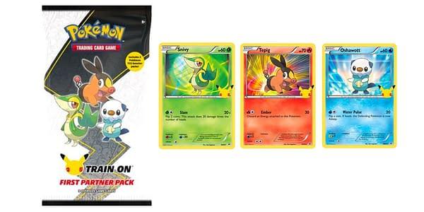 First Partner Pack: Unova. Credit: Pokémon TCG