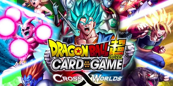 Cross Worlds graphic. Credit: Dragon Ball Super Card Game