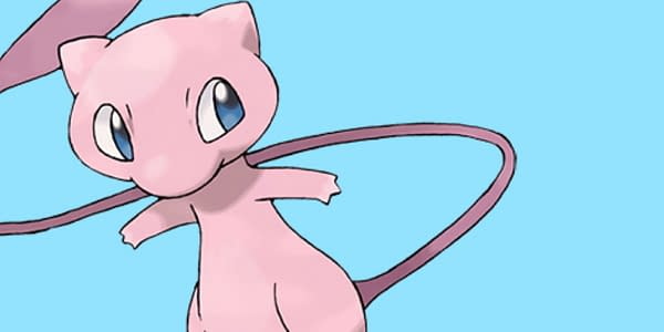 Official Mew artwork. Credit: Pokémon Company