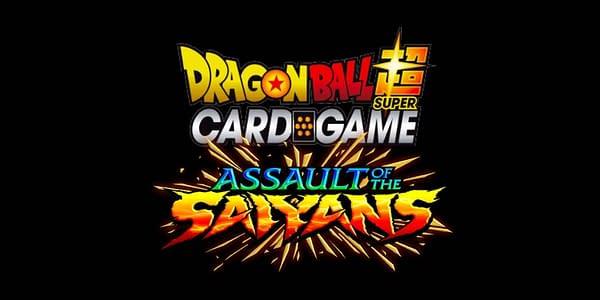 Assault of the Saiyans logo. Credit: Dragon Ball Super Card Game