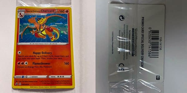 Special Delivery Charizard. Credit: Pokémon TCG