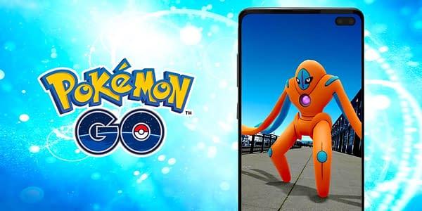Defense Deoxys in Pokémon GO. Credit: Niantic