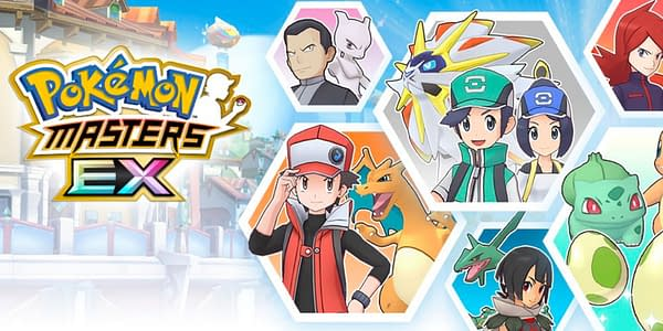 Pokémon Masters EX graphic. Credit: DeNa