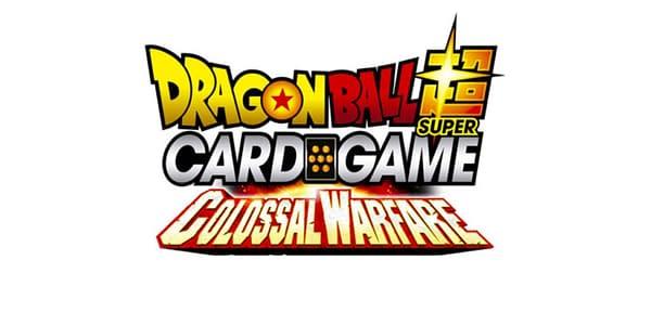 Colossal Warfare logo. Credit: Dragon Ball Super Card Game