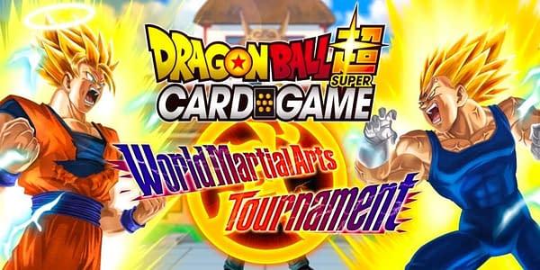 World Martial Arts Tournament graphic. Credit: Dragon Ball Super Card Game