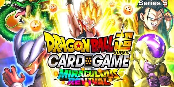 Miraculous Revival logo. Credit: Dragon Ball Super Card Game