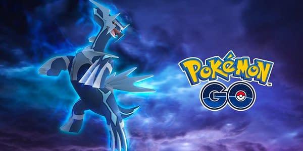 Dialga in Pokémon GO. Credit: Niantic