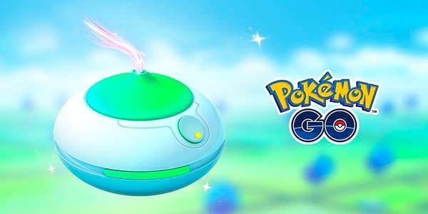 Incense in Pokémon GO. Credit: Niantic