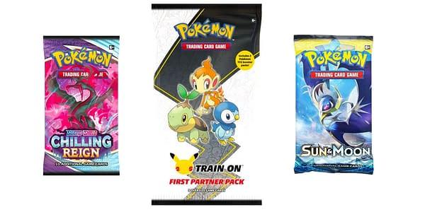 Contents of First Partner Pack: Sinnoh. Credit: Pokémon TCG