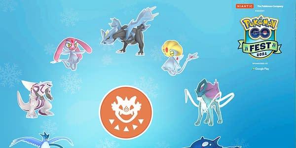 Pokémon GO Fest 2021 Promo image. Credit: Niantic