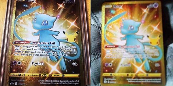 "Mysterious ""Leaked"" Shiny Mew Card From Pokémon TCG: Celebrations"