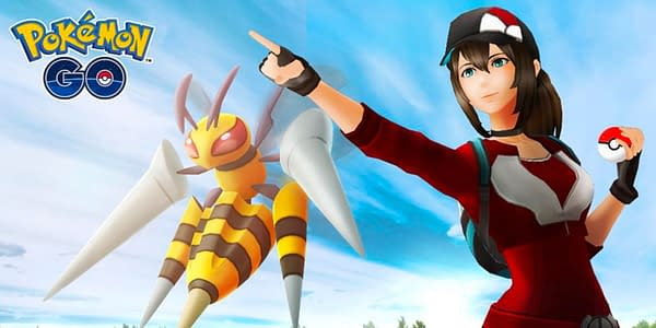 Mega Beedrill in Pokémon GO. Credit: Niantic