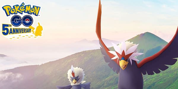 Rufflet & Braviary in Pokémon GO. Credit: Niantic