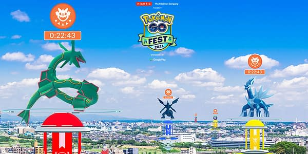 GO Fest 2021 promo image in Pokémon GO. Credit: Niantic