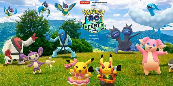 GO Fest 2021 graphic in Pokémon GO. Credit: Niantic
