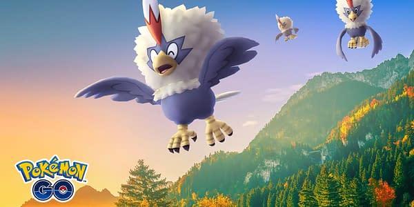 Rufflet in Pokémon GO. Credit: Niantic