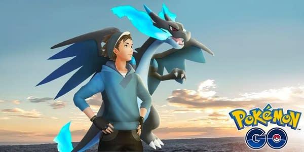 Mega Charizard X in Pokémon GO. Credit: Niantic