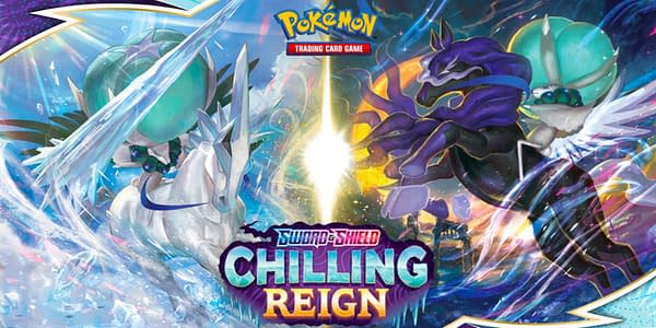Chilling Reign graphic. Credit: Pokémon TCG