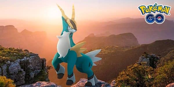 Cobalion in Pokémon GO. Credit: Niantic