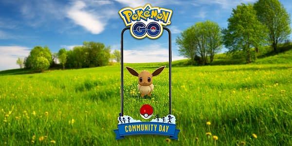 Eevee Community Day graphic in Pokémon GO. Credit: Niantic