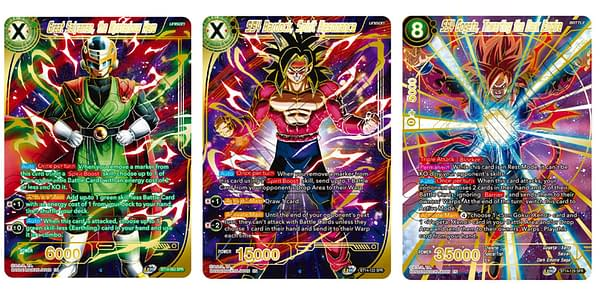 Cards of Cross Spirits. Credit: Dragon Ball Super Card Game