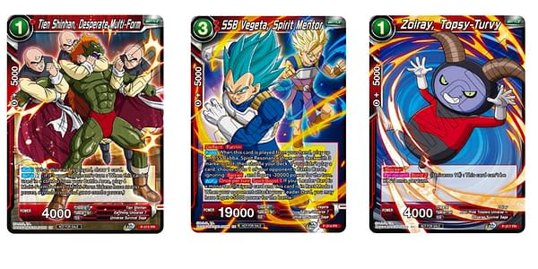 Cards of Cross Spirits. Credit: Dragon Ball Super