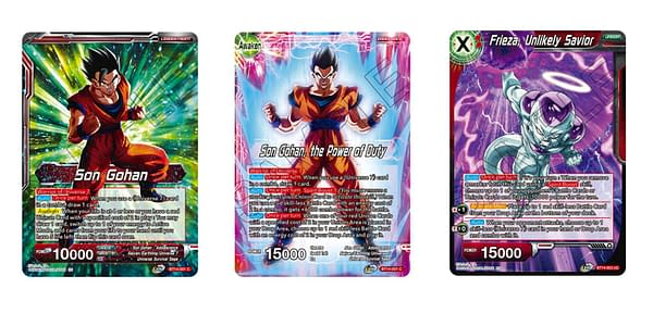 Cross Spirits cards. Credit: Dragon Ball Super Card Game