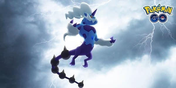 Thundurus in Pokémon GO. Credit: Niantic