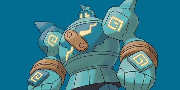 Golurk official art. Credit: Pokémon Company
