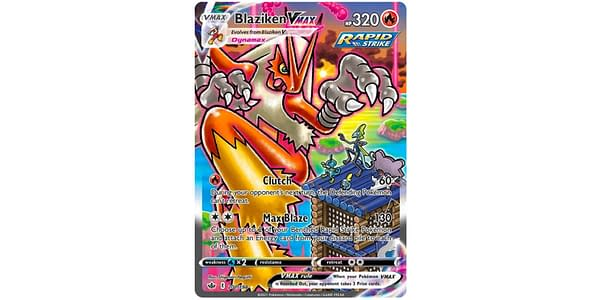 Blaziken VMAX Alternate Art. Credit: Pokémon TCG