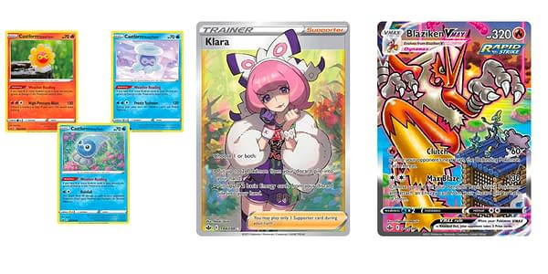 Cards of Chilling Reign. Credit: Pokémon TCG