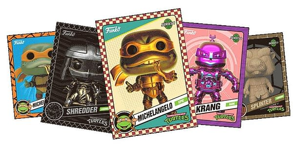 Funko's New TMNT NTFs Introduce Gambling Into Pop Collecting