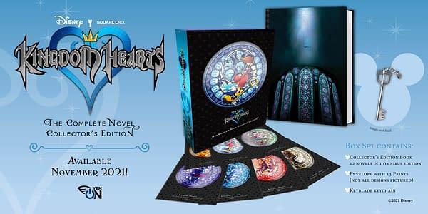 Yen Press Announces Kingdom Hearts: The Novel Collector's Edition