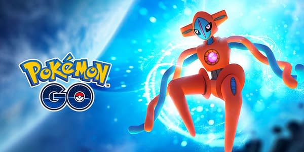 Deoxys in Pokémon GO. Credit: Niantic