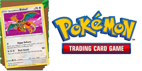 Special Delivery Bidoof. Credit: Pokémon TCG