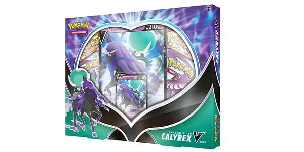 Shadow Rider Calyrex V Box. Credit: Pokémon TCG