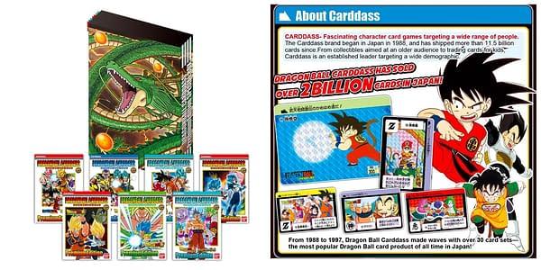 Dragon Ball Carddass Premium Edition DX. Credit: Bandai