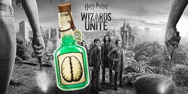 Baruffio's Brain Elixir in Harry Potter: Wizards Unite. Credit: Niantic
