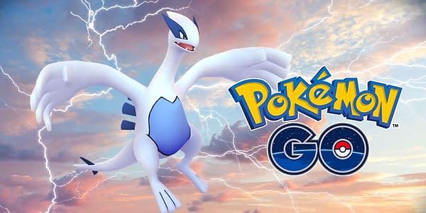 Lugia in Pokémon GO. Credit: Niantic
