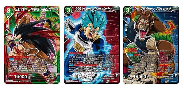 Promo cards. Credit: Dragon Ball Super Card Game