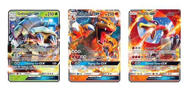 Cards of Burning Shadows. Credit: Pokémon TCG
