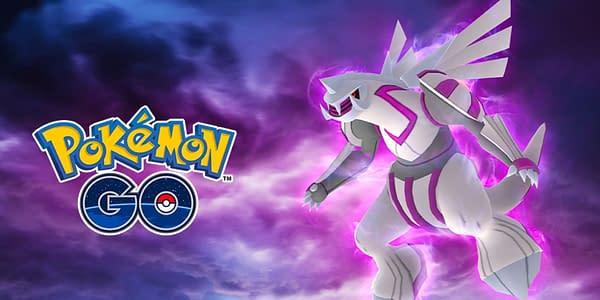 Palkia in Pokémon GO. Credit: Niantic
