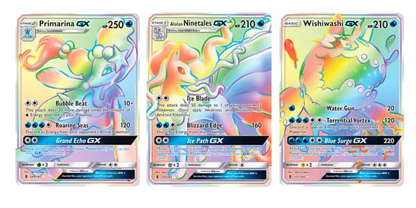 The Cards of Guardians Rising. Credit: Pokémon TCG
