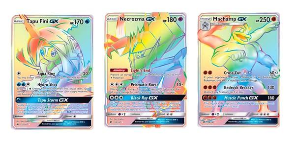 The Cards of Burning Shadows. Credit: Pokémon TCG