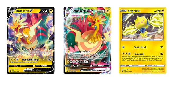 The Cards of Sword & Shield - Evolving Skies. Credit: Pokémon TCG