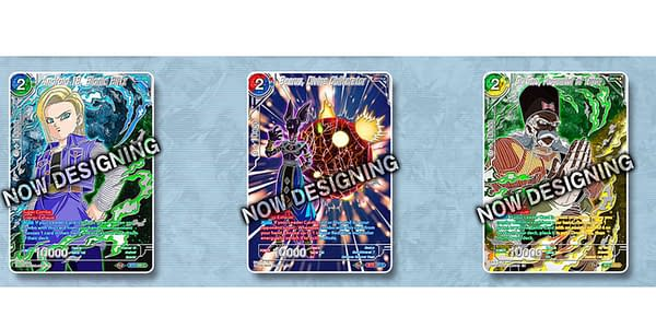 Dragon Ball Super Collector's Selection cards. Credit: Bandai
