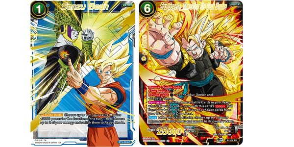Dragon Ball Super Card Game cards. Credit: Bandai