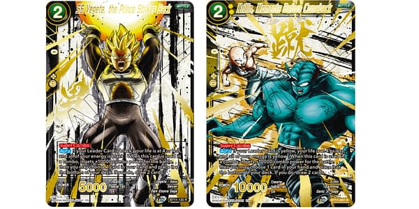 Dragon Ball Super 2021 Anniversary Reprint cards. Credit: Bandai