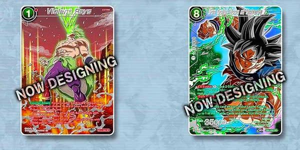 Cards of Dragon Ball Super Collector's Selection Vol. 2. Credit: Bandai