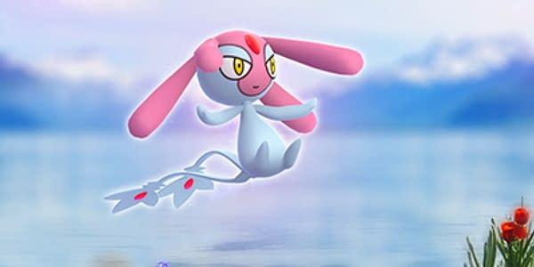 Mesprit in Pokémon GO. Credit: Niantic